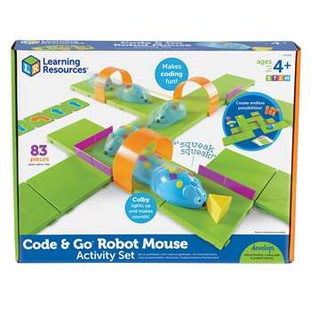 Stem Robot Mouse Coding Activity Set, LER2831