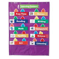 Classroom Centers Pocket Chart By Learning Resources