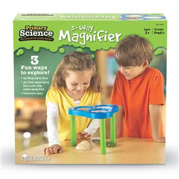 3 Way Magnification Science Station By Learning Resources