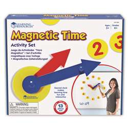 Magnetic Time Activity Set By Learning Resources