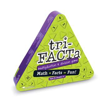 Tri Facta Multiplication And Division Game By Learning Resources