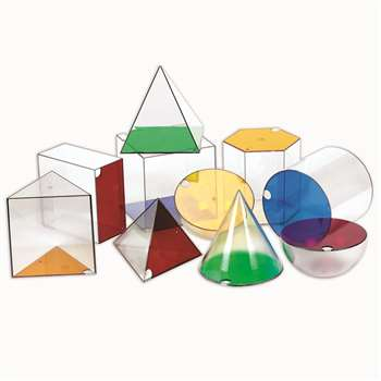 Giant Geosolids Set Of 10 By Learning Resources