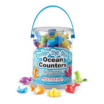 Shop Under The Sea Ocean Counters - Ler3341 By Learning Resources