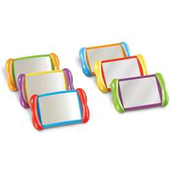 All About Me 2 In 1 Mirrors 6 Set By Learning Resources