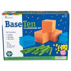 Base Ten Class Set Brights, LER3552