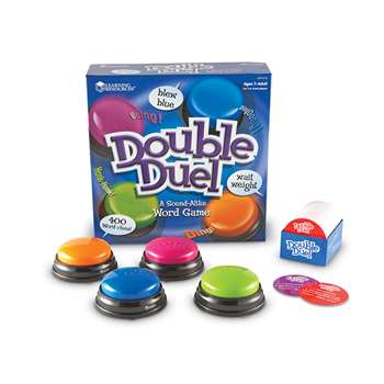Double Duel A Sound Alike Word Game By Learning Resources