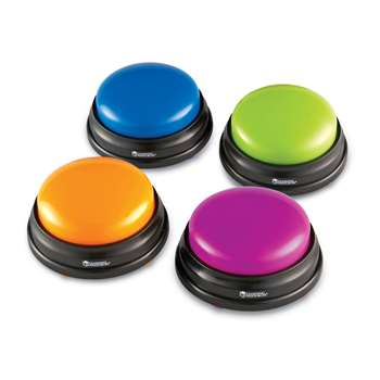 Answer Buzzers Set Of 4 By Learning Resources