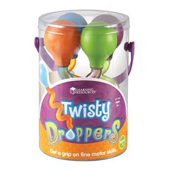 Twisty Droppers Set Of 4 By Learning Resources