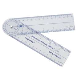 Safe-T Angle/Linear Ruler By Learning Resources