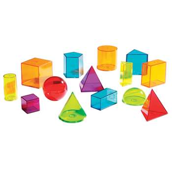 View Thru Geometric Solids By Learning Resources