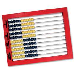 2 Color Desktop Abacus By Learning Resources