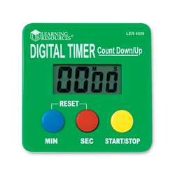 Digital Timer Count Down/Up By Learning Resources