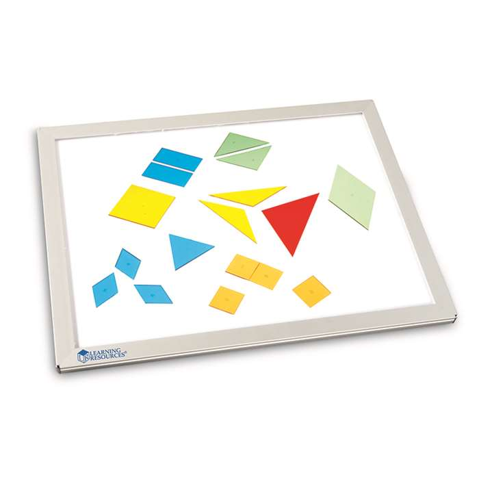 Glo Plane Ultra Slim Light Panel By Learning Resources