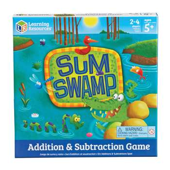 Sum Swamp Gr Pk & Up Addition & Subtraction By Learning Resources