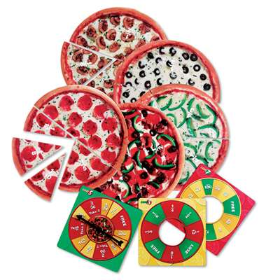 Pizza Fraction Fun Jr. Game By Learning Resources
