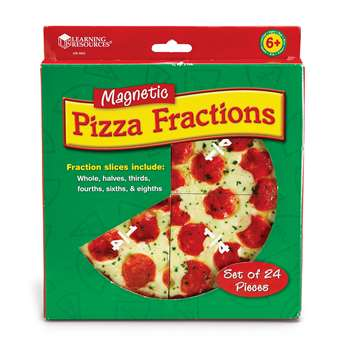 Magnetic Pizza Fraction Set By Learning Resources
