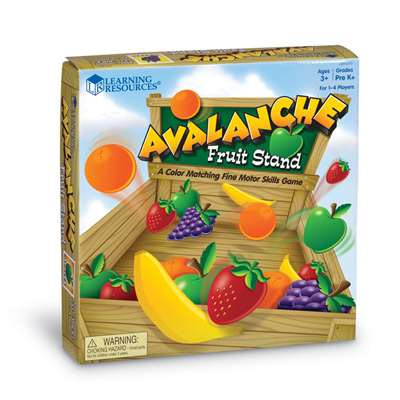 Avalanche Fruit Stand By Learning Resources