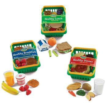 Play Set Healthy Foods Set Of 55 Bundle By Learning Resources