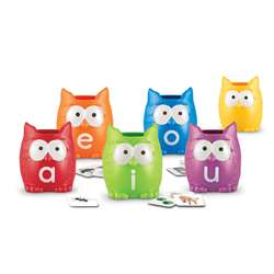 Shop Vowel Owls Sorting Set - Ler5460 By Learning Resources