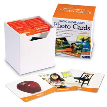 Basic Vocabulary Photo Card Set By Learning Resources