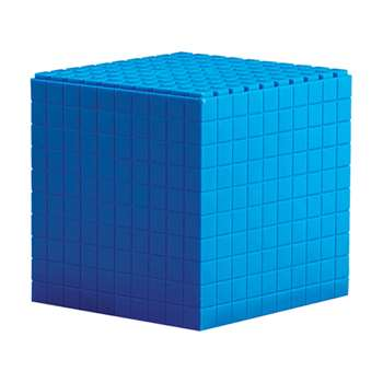 Interlocking Base Ten 1 Cube 10 X 10 X 10 Cm By Learning Resources