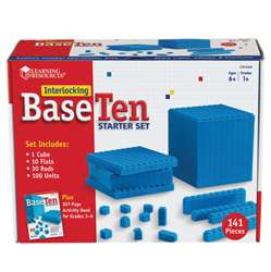 Interlocking Base Ten Starter Set By Learning Resources