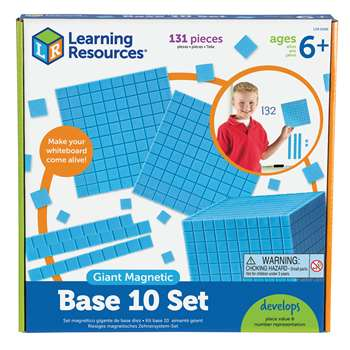 Giant Magnetic Base Ten Set By Learning Resources