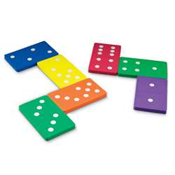 Jumbo Foam Dominoes Set Of 28 By Learning Resources