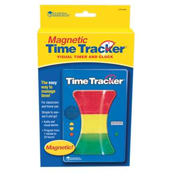 Magnetic Time Tracker By Learning Resources