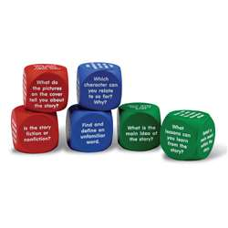 Reading Comprehension Cubes By Learning Resources