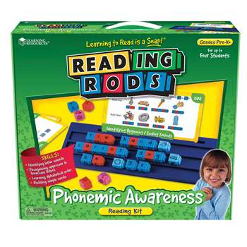 Reading Rods Phonemic Awareness Kit Gr Pk& Up By Learning Resources