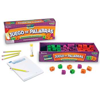 Juego De Palabras A Spanish Reading Rod Word Game By Learning Resources