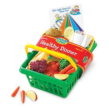 Pretend & Play Healthy Dinner Set By Learning Resources