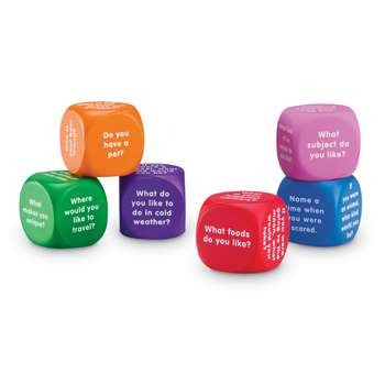 Conversation Cubes By Learning Resources