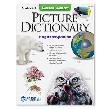 Science Content Picture Dictionary English Spanish By Learning Resources