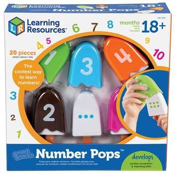 Shop Smart Snacks Numberpops - Ler7344 By Learning Resources