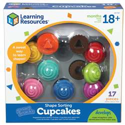 Smart Snacks Shape Sorting Cupcakes By Learning Resources