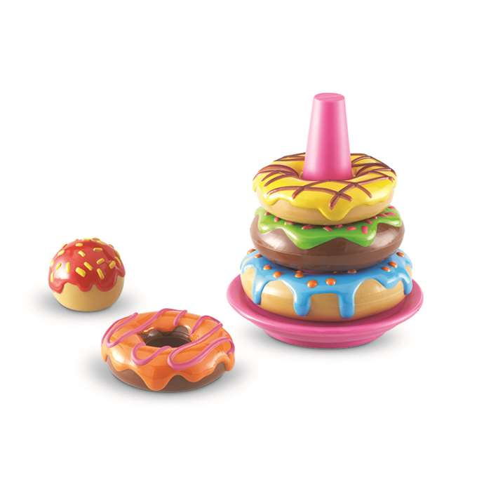 Shop Smart Snacks Stack Em Up Doughnuts - Ler7352 By Learning Resources