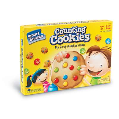Smart Snacks Counting Cookies Game By Learning Resources
