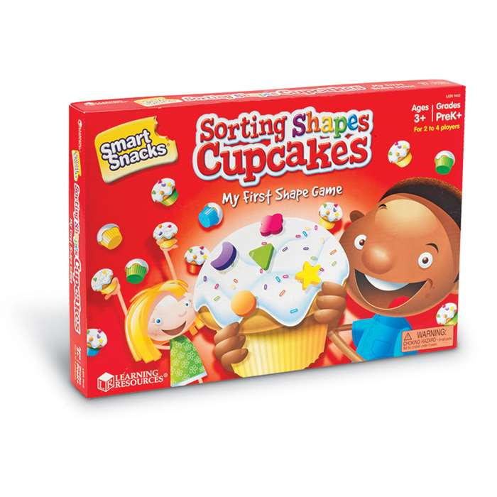 Smart Snacks Sorting Shape Cupcakes Game By Learning Resources