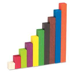 Cuisenaire Rods Small Group 155/Pk Wood By Learning Resources
