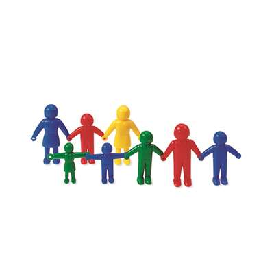 Connecting People 96/Pk 3 Sizes 4 Colors By Learning Resources