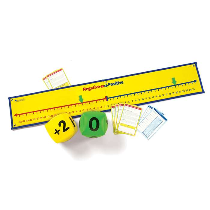 Positive & Negative Number Line Activity Set By Learning Resources