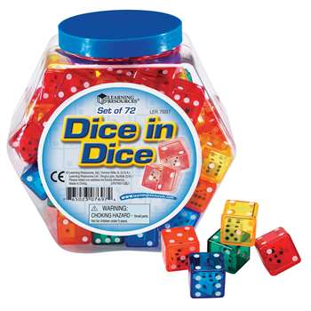Dice In Dice By Learning Resources