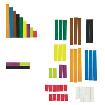 Magetic Cuisenaire Rods By Learning Resources