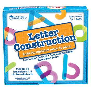 Shop Letter Construction Activity Set - Ler8555 By Learning Resources