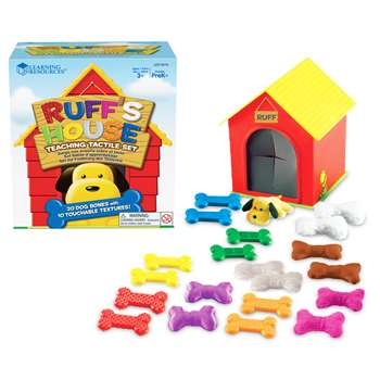 Ruffs House Teaching Tactile Set By Learning Resources