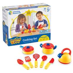 Pretend & Play Cooking Set 10 Pieces By Learning Resources