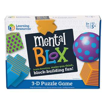 Mental Blox Critical Thinking Set By Learning Resources