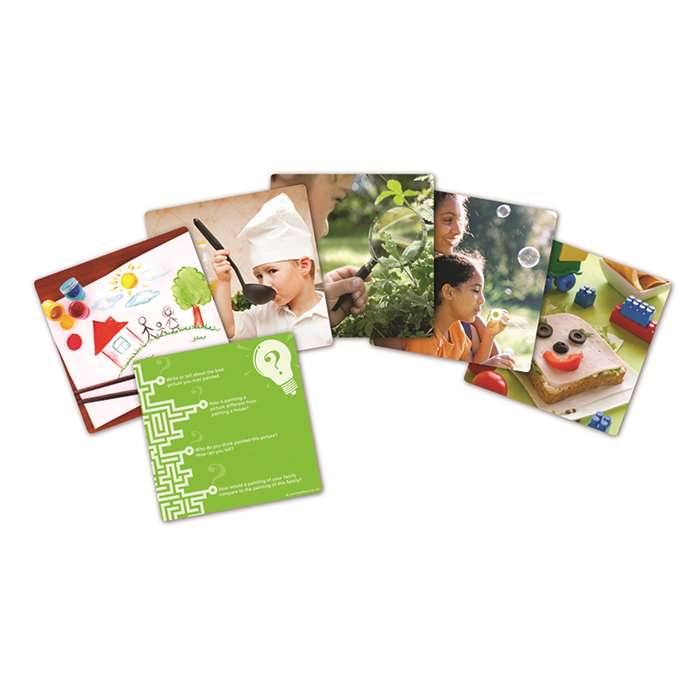 Snapshots Critical Thinking Photo Cards Gr Pk-K Set Of 40 By Learning Resources
